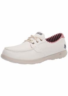 Skechers Women's GO Walk LITE-SEA Fun Boat Shoe   Medium US