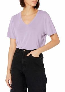 Skechers Women's GoKnit Tranquil Sandwashed Super Soft Model Tee Shirt  L