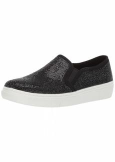 Skechers Women's Goldie-Flashow. Small Tonal Rhinestone Slip on Sneaker   M US