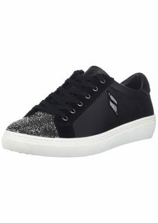 Skechers Women's Goldie-Glitchy. Rhinestone Toe lace up Sneaker