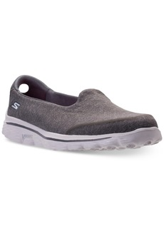 Skechers Women's GOwalk 2 Super Sock - Courage Casual Walking Sneakers from Finish Line