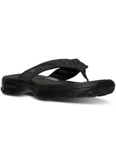 Skechers Women's GOwalk 3 - Pizazz Flip Flop Walking Sandals from Finish Line
