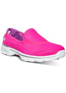 Skechers Women's GOwalk 3 - Unfold Walking Sneakers from Finish Line