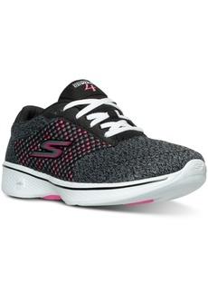 Skechers Women's GOwalk 4 - Exceed Walking Sneakers from Finish Line
