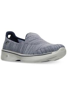 Skechers Women's GOwalk 4 - Satisfy Walking Sneakers from Finish Line