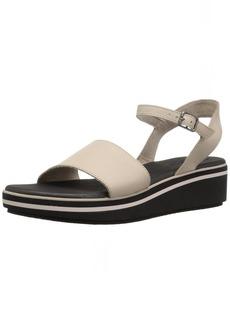 Skechers Women's HUSHHUSH-Jet Crew-Ankle Strap Platform Wedge Sandal
