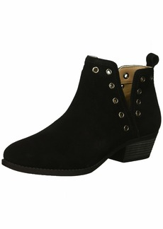 Skechers Women's Lasso-Auger-Short Deco Eyelet Ankle Boot   M US