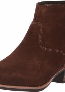Skechers Women's Lasso-Caravel-Short Zip-On Ankle Boot   M US