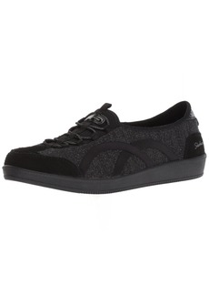 Skechers Women's Madison AVE-Urban Glitz Sneaker BKSL  M US