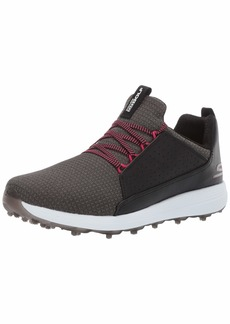 Skechers Women's Max Mojo Spikeless Golf Shoe Black/hot Pink  M US