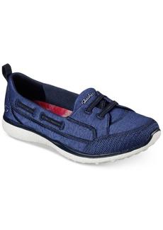 Skechers Women's Microburst - Topnotch Wide Width Casual Walking Sneakers from Finish Line