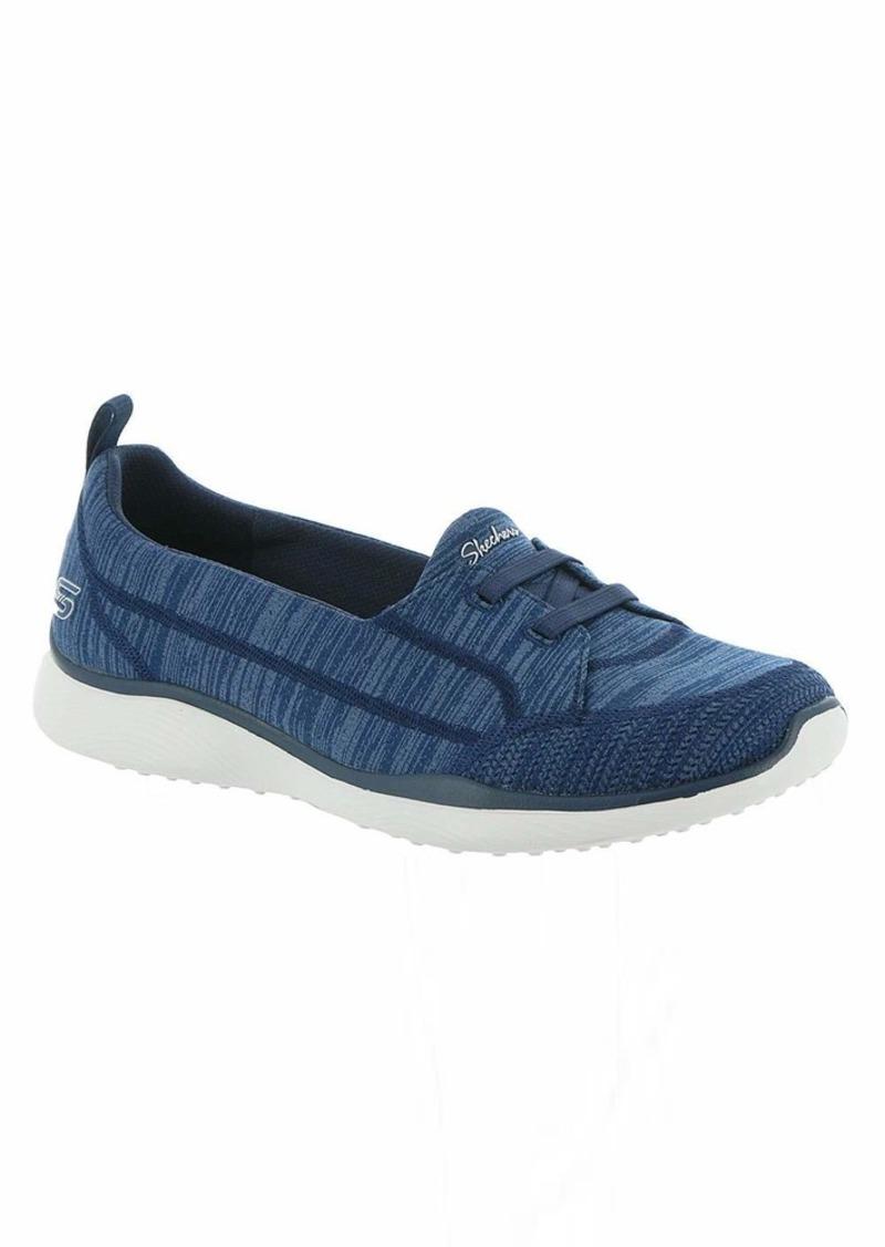 Skechers Women's Microburst 2.0-Best Ever Sneaker NVY  M US