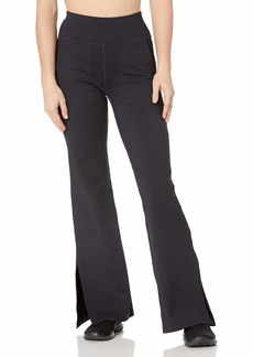 Skechers Women's Misses Go Walk Air High Waisted 4 Pocket Flare Pant with Side Slit  XXL