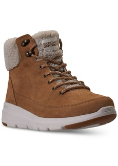 Skechers Women's On the Go Glacial Ultra Woodlands Winter Boots from Finish Line