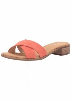 Skechers Women's Petaluma-Criss Cross Slide Sandal   M US