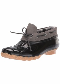 Skechers Women's Pond-Posy ONE-Waterproof Bow Duck Shoe Rain Boot   M US