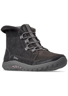 Skechers Women's Relaxed Fit Reggae Fest Everest Boots from Finish Line