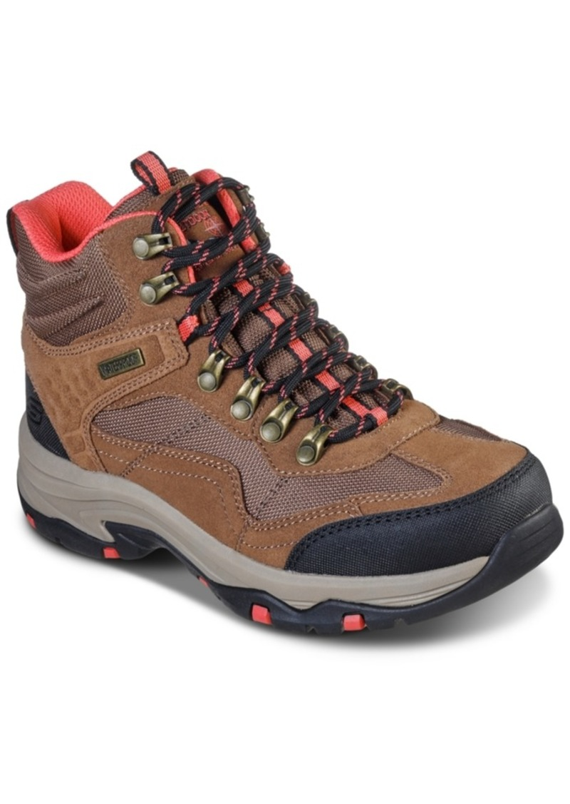 Skechers Women's Relaxed Fit Trego Base Camp Hiking Boots from Finish Line