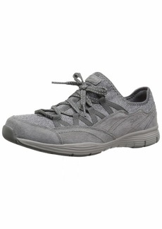Skechers Women's Seager-Zip LINE-Fixed Bow Quarter Fit Slip-On Sneaker   M US