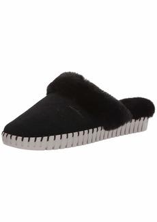 Skechers Women's SEPULVEDA BLVD-Hang Easy-Faux Fur Lined Slipper   M US