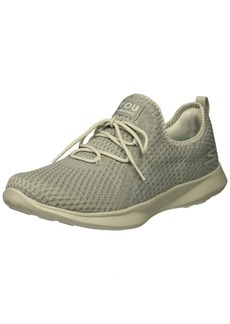 Skechers Women's Serene Tranquility Sneaker Gray  M US