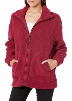 Skechers Women's Sherpa Full Zip 2 Pocket Polar Fleece Jacket  XS
