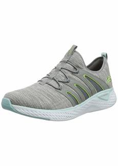 Skechers Women's Solar Fuse Sneaker GYBL/Grey  M US