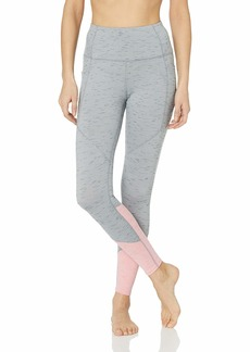 Skechers Women's Solstice High Waist Color Block Yoga Pant Legging  S