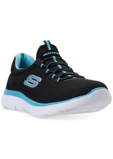 f2f7bef4dd46 Skechers Women s Summits Wide Width Athletic Sneakers from Finish Line