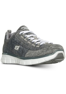 Skechers Women's Synergy: Spot On Wide Memory Foam Walking Sneakers from Finish Line