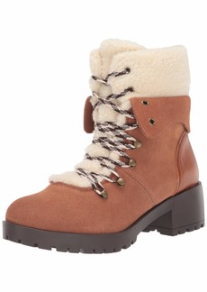 Skechers Women's Trail Troop-Sherpa Tongue and Collar Mid Hiker Boot Fashion   M US