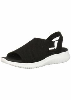 Skechers Women's Ultra Flex-Engineered Knit Sling-Back Sporty Sandal Sport   M US