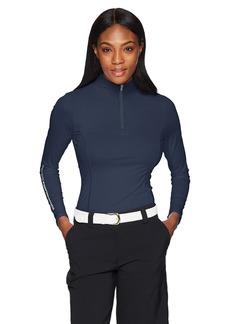 Skechers Women's UPF 50 Long Sleeve 1/4 Zip Pullover  L