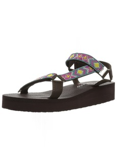 Skechers Women's Vinyasa-River Wonder-Bead & Rhinestone Fisherman Sandal