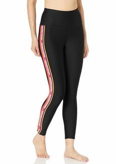 Skechers Women's Virtual Stripe High Waisted 7/8 Workout Yoga Leggings  M