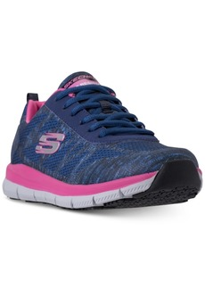 Skechers Women's Work Relaxed Fit: Comfort Flex Pro Hc Slip Resistant Athletic Sneakers from Finish Line