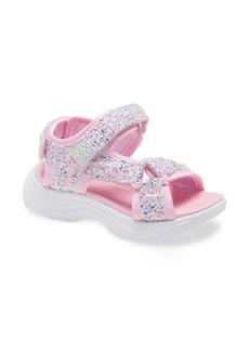 Skechers SKETCHERS Glimmer Kicks Sandal (Walker & Toddler)