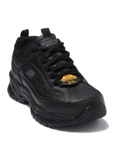 Skechers Soft Stride - Galley Slip Resistant Leather Sneaker