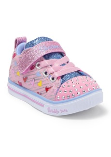 Skechers Sparkle Lite Heart Sketch Sneaker (Toddler)