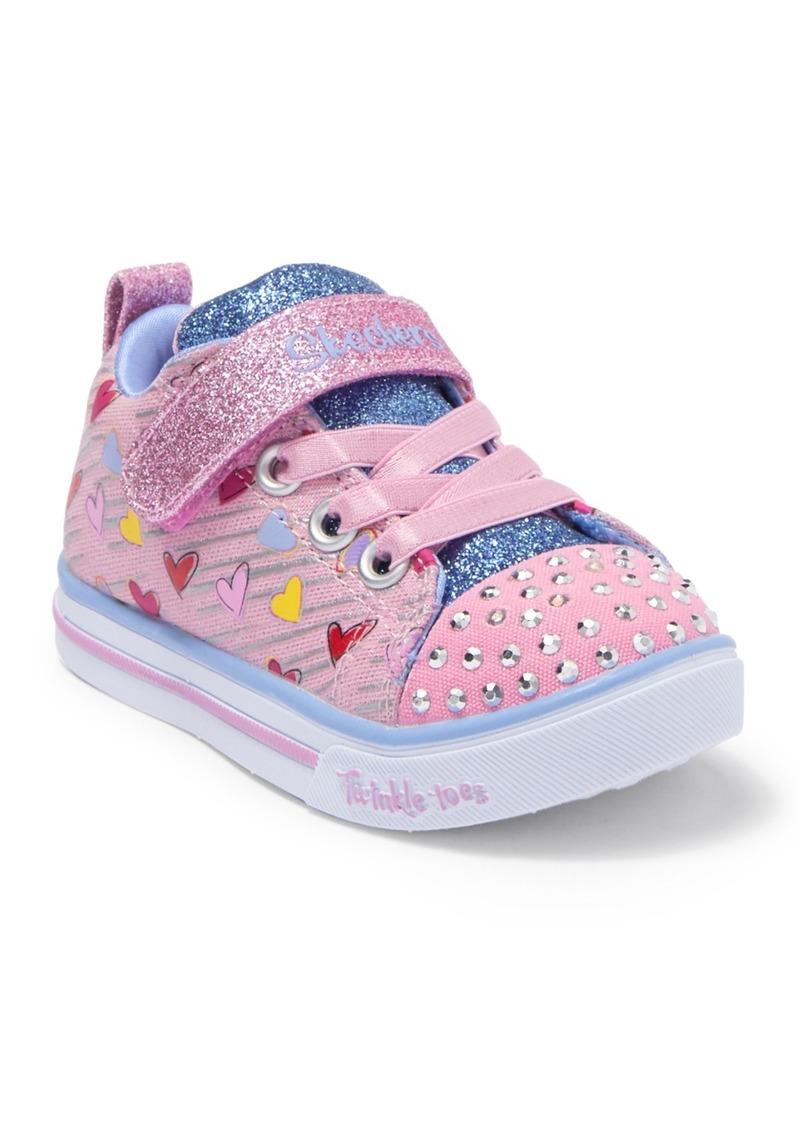 Skechers Sparkle Lite Heart Sketch Sneaker (Toddler)