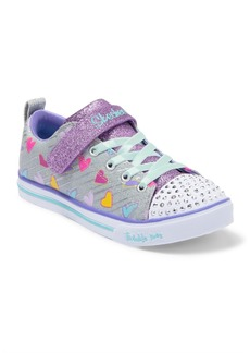 Skechers Sparkle Lite Heart Sketch Sneaker (Toddler, Little Kid & Big Kid)