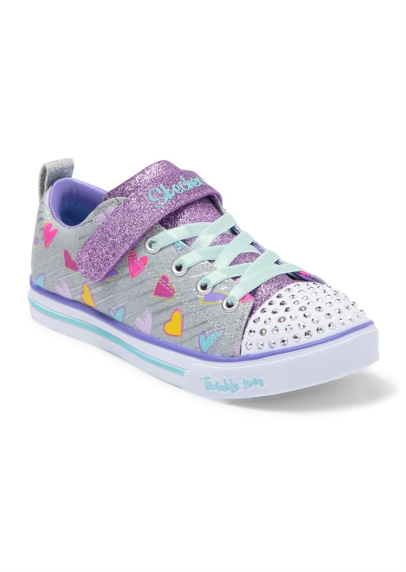 Skechers Sparkle Lite Heart Sketch Sneaker (Toddler, Little Kid & Big Kid)