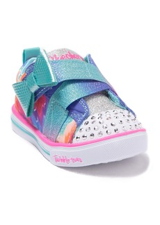 Skechers Sparkle Lite Rainbow Cutie Sneaker (Toddler)
