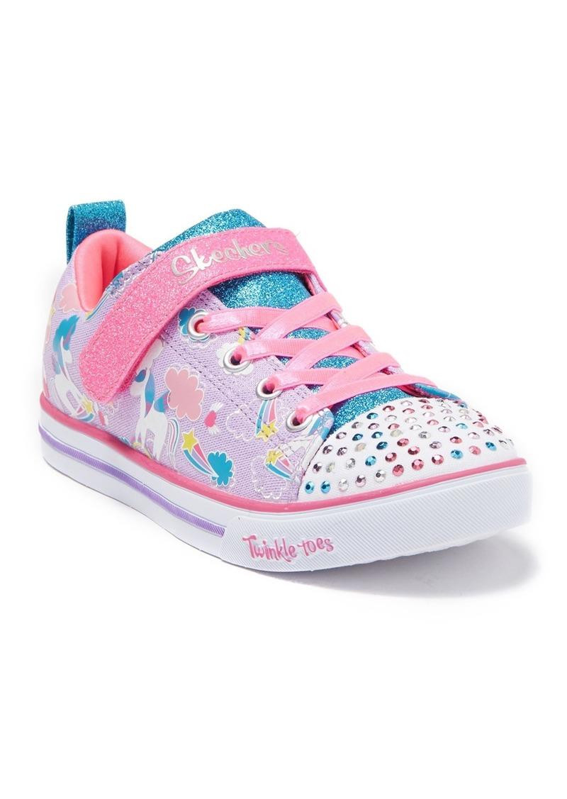 Skechers Sparkle Lite Sparkle Friends Sneaker (Little Kid & Big Kid)