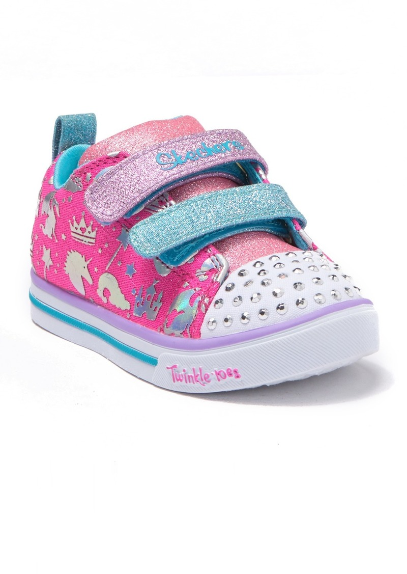 Skechers Sparkle Lite Sparkleland Light-Up Sneaker (Toddler)