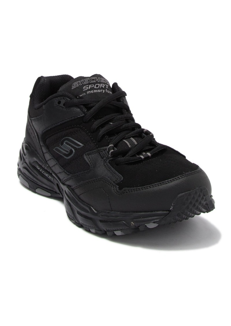Skechers Stamina Plus Leather Sneaker