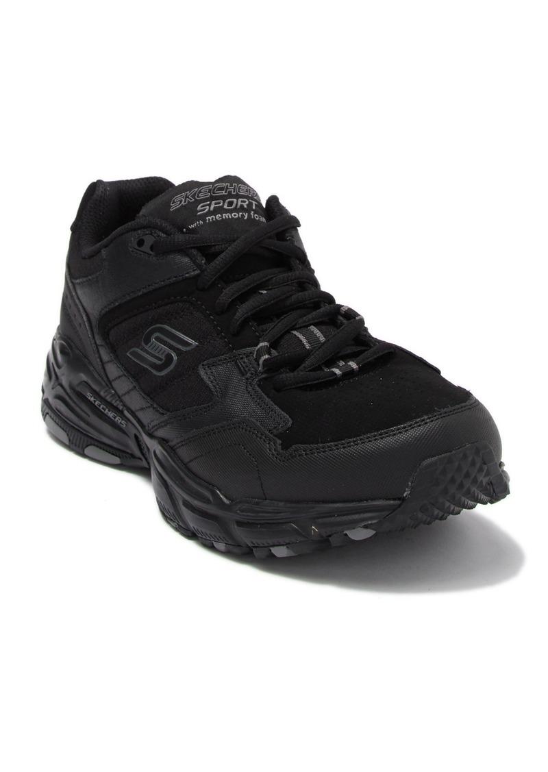 Skechers Stamina Plus Leather Sneaker