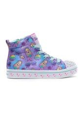Skechers Twi-Lites Mermaid Party Light-Up High Top Sneaker (Toddler, Little Kid, & Big Kid)
