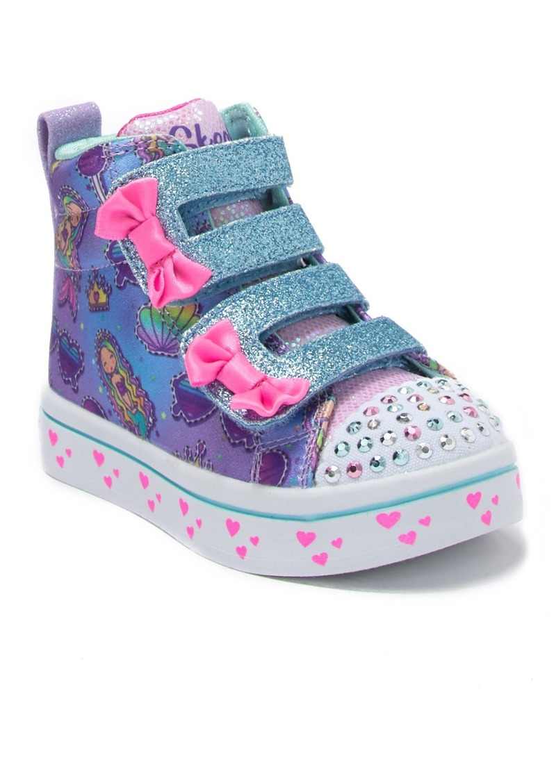 Skechers Twinkle Lights Mermaid Gems Sneaker (Toddler)