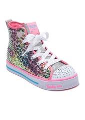 Skechers Twinkle Lite Leopard Glitz Sneaker (Toddler, Little Kid & Big Kid)